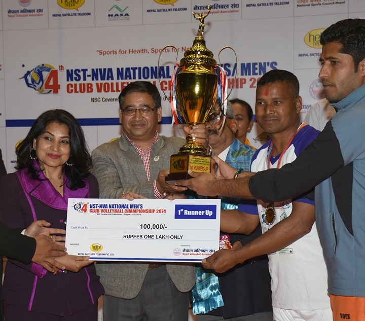 Closing of NST-NVA National Club league Volleyball Tournament