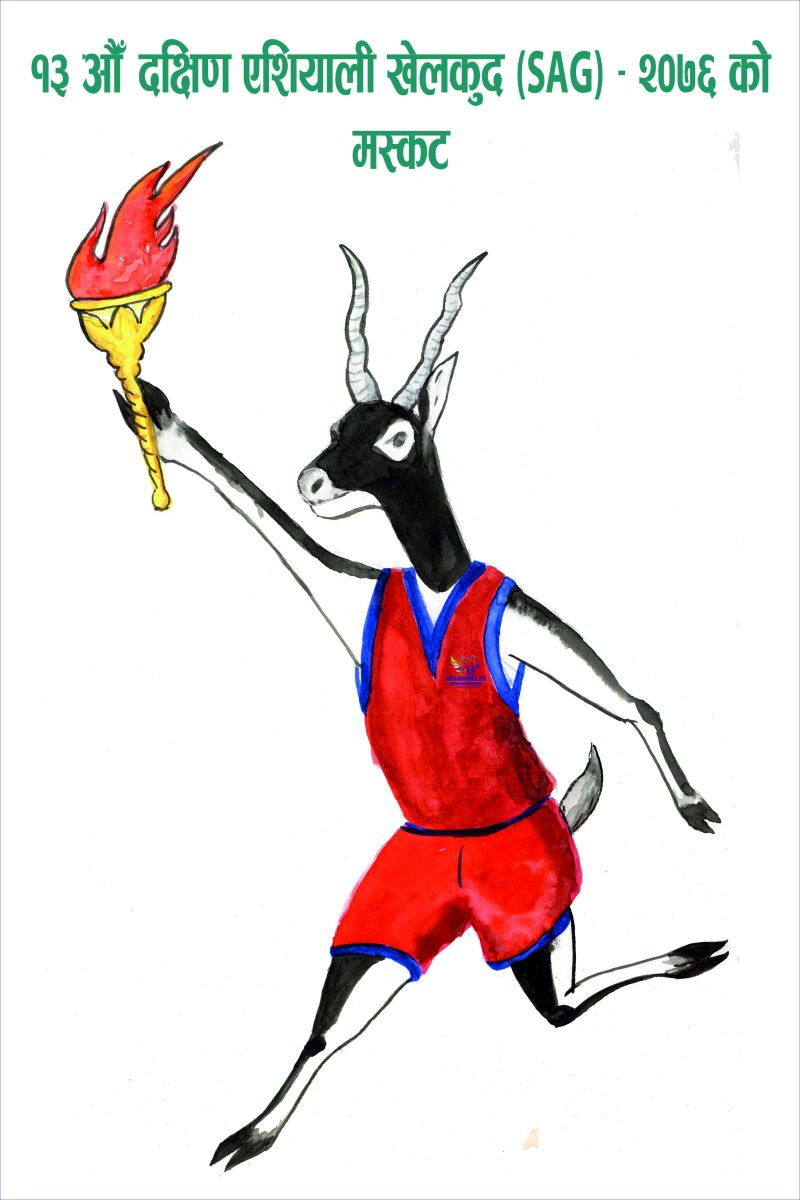 Official Mascot and Logo of 13...