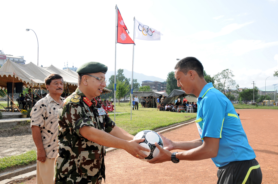 Nepal Army School 2015 at Nepal Army Sports
